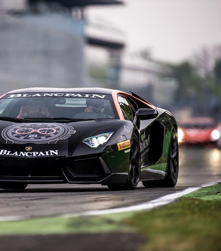Lamborghinis at Monza